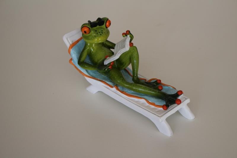 Frosch zum Relaxen