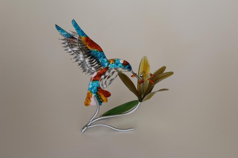 Kolibri aus Metall