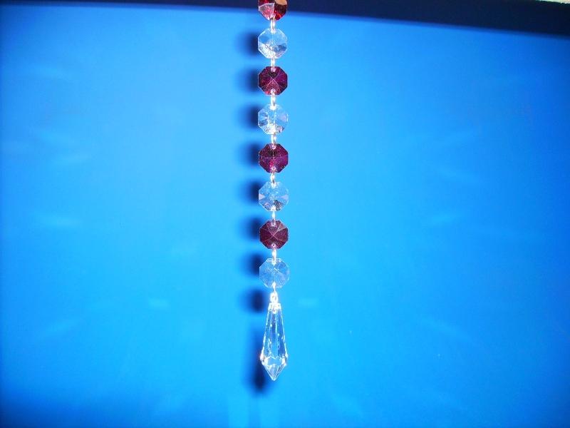 Hochbleikristallgehänge 38 mm