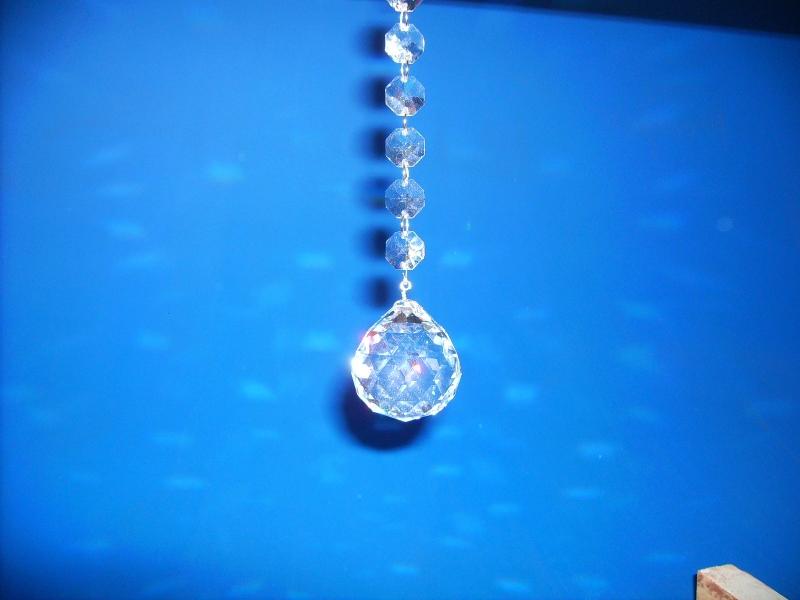 Hochbleikristallgehänge 40 mm