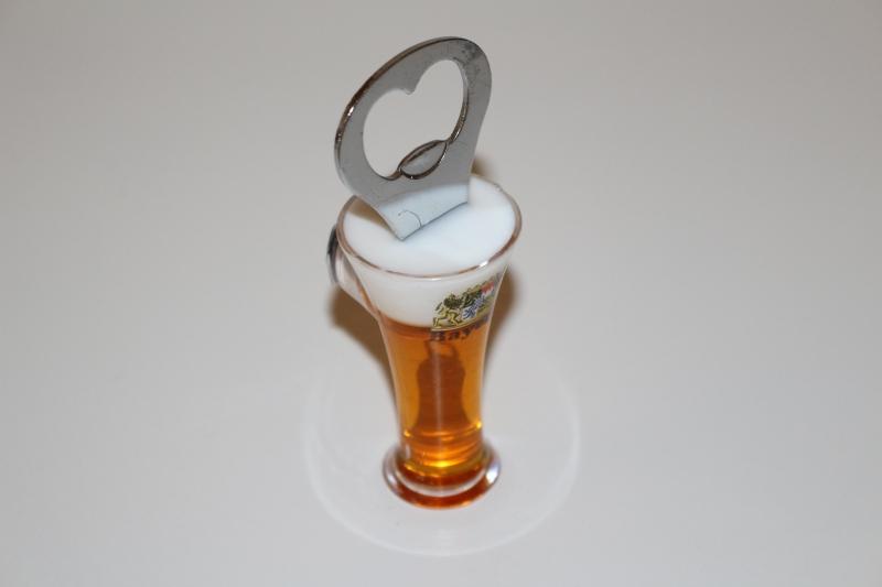 Flaschenöffner  Weizenbierform