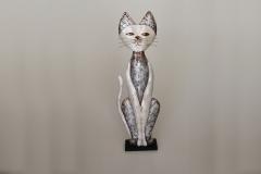 Katze aus Metall