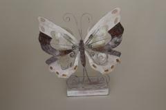 Schmetterling aus Metall
