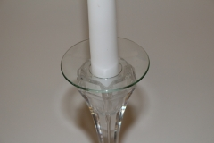 Abtropfschale für Kerzenleuchter